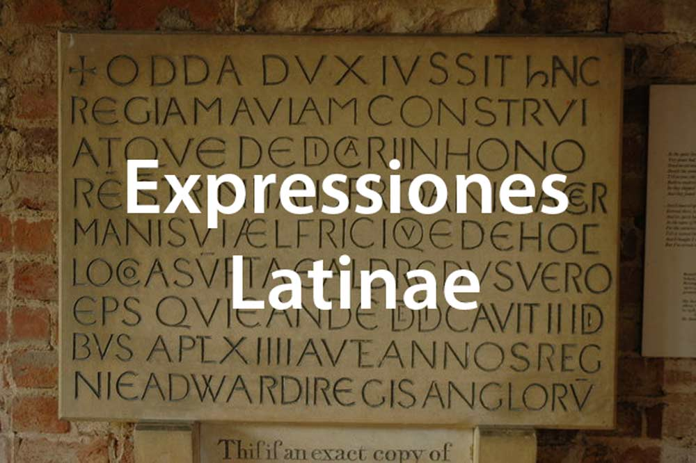 Latin expressions in English